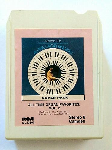 All-Time Organ Favorites Vol. 2 Bob Ralston Super Pack (8-Track Tape, S213805)
