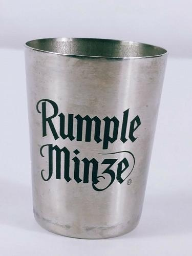 "Rumple Minze 2"" Stainless Steel Collectible Shot Glass With Bottle Opener"
