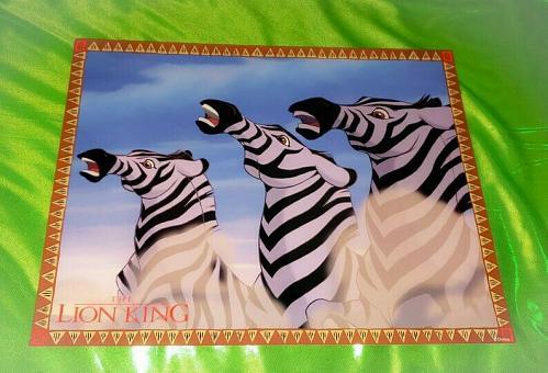 Vintage Walt Disney's THE LION KING 11x14 Glossy Lobby Card 7 Rare