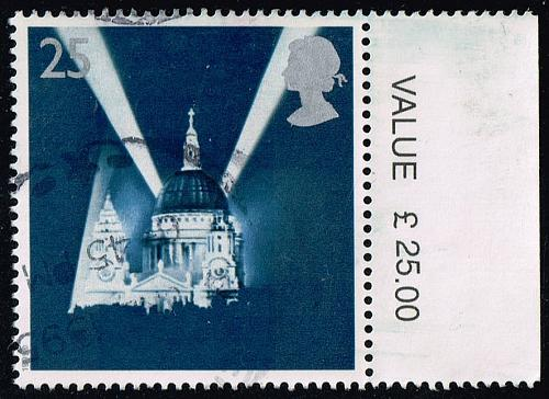Great Britain #1614 St. Paul's Cathedral; Used (0.70) (4Stars) |GBR1614-03XVA