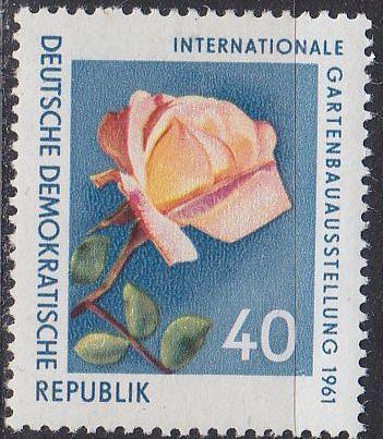 GERMANY DDR [1961] MiNr 0856 ( **/mnh ) Blumen
