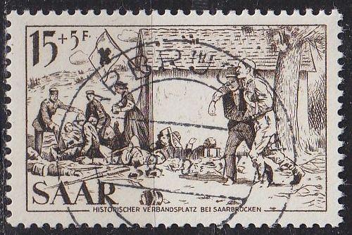 GERMANY Saar [1956] MiNr 0370 ( O/used )