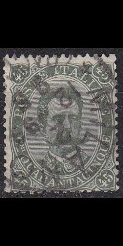 ITALIEN ITALY [1889] MiNr 0051 ( O/used )