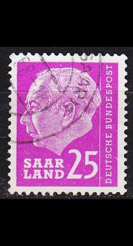 GERMANY Saar [1957] MiNr 0390 ( O/used )