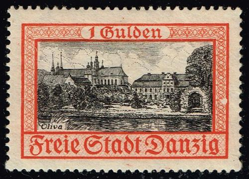 Danzig #194 Oliva Castle and Cathedral; MNH (5Stars) |DAN194-01XRP