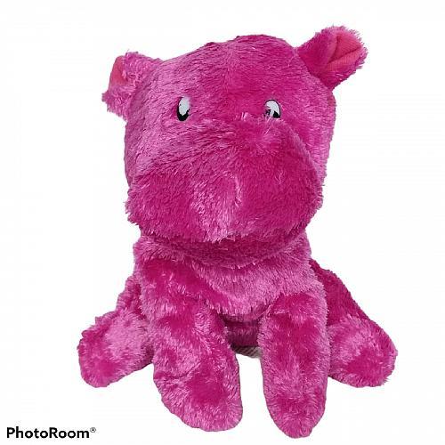 "Worldplush Pink Hippo Hippotamus Plush Stuffed Animal 7.5"""