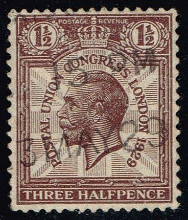 Great Britain #207 King George V; Used (2.00) (4Stars) |GBR0207-01XRS