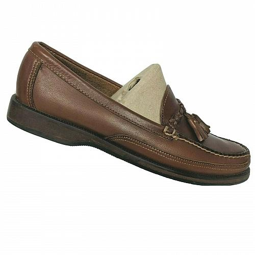 Sebago Mens Brown Leather Tasseled Slip On Moc Toe Casual Loafers Size 8.5 M