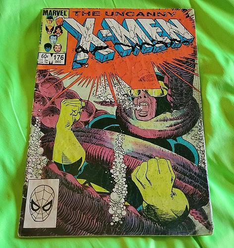 The Uncanny X-Men #176 Cyclops Vintage Marvel Comics FR-GD