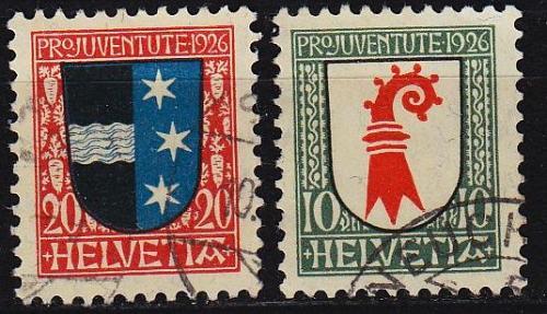 SCHWEIZ SWITZERLAND [1926] MiNr 0218 ex ( O/used ) [01] Pro Juventute
