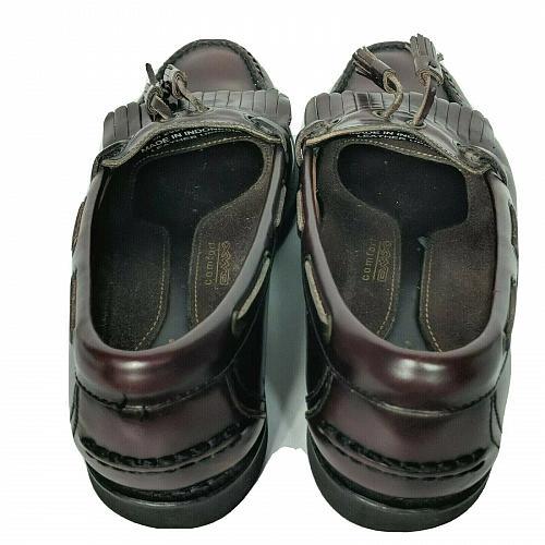 Rockport Mens Comfort DMX Burgundy Leather Dress Tasseled Kilt Loafers 9.5 M