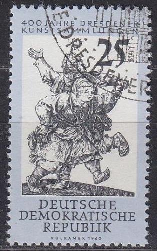 GERMANY DDR [1960] MiNr 0792 ( O/used ) Kunst