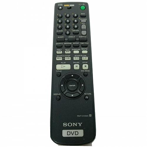 Genuine Sony TV DVD Remote Control RMT-D129A Tested Works
