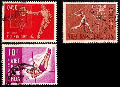 VIETNAM SÜD SOUTH [1965] MiNr 0349 ex ( O/used ) [01] Sport