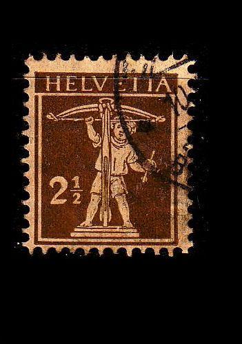 SCHWEIZ SWITZERLAND [1924] MiNr 0198 ( O/used )