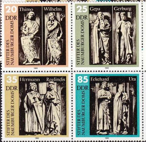 GERMANY DDR [1983] MiNr 2808-11 4er ( **/mnh )