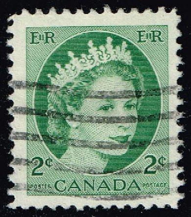 Canada #338 Queen Elizabeth II; Used (0.25) (3Stars)  CAN0338-11XVA