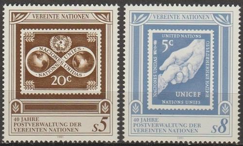 [UV0121] UN Vienna: Sc. No. 121-122 (1991) MNH Complete Set