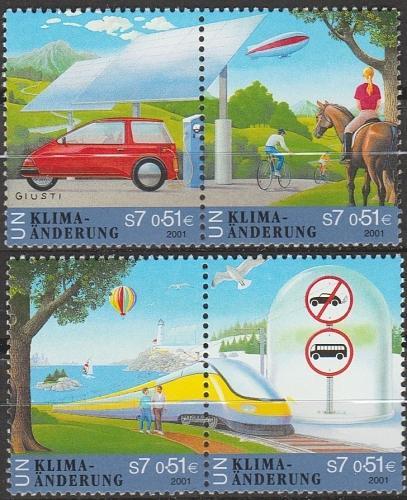 [UV0297] UN Vienna: Sc. No. 297-300 (2001) MNH Complete Set