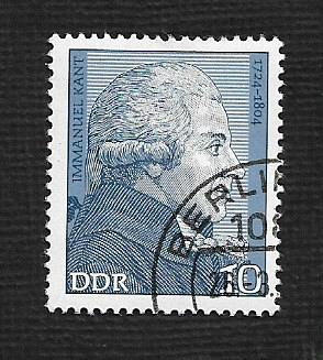 Germany DDR Used Scott #1542 Catalog Value $.25