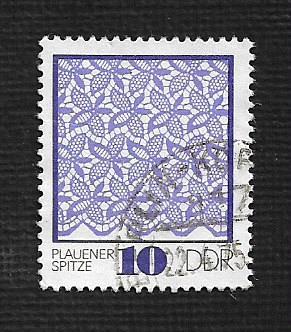 Germany DDR Used Scott #1563 Catalog Value $.25