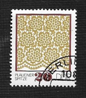 Germany DDR Used Scott #1564 Catalog Value $.25