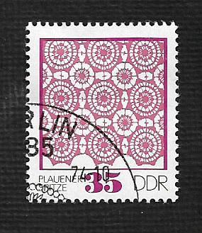 Germany DDR Used Scott #1566 Catalog Value $.25