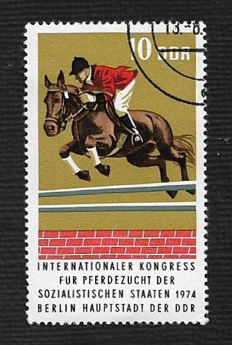 Germany DDR Used Scott #1570 Catalog Value $.25