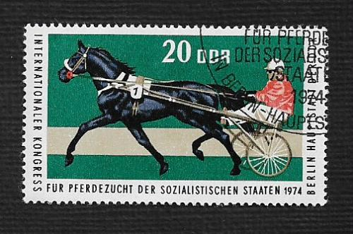 Germany DDR Used Scott #1571 Catalog Value $.25