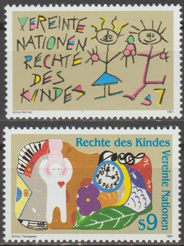 [UV0117] UN Vienna: Sc. No. 117-118 (1991) MNH Complete Set