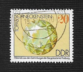 Germany DDR Used Scott #1606 Catalog Value $.25