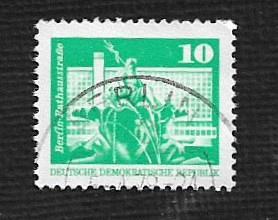 Germany DDR Used Scott #1611 Catalog Value $.35