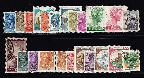 Stamps of Italy