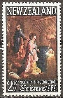[NZ0429] New Zealand: Sc. no. 429 (1969) MNH Single