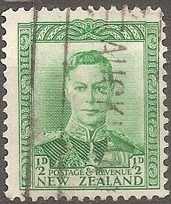 [NZ0226] New Zealand: Sc. no. 226 (1938-1944) Used