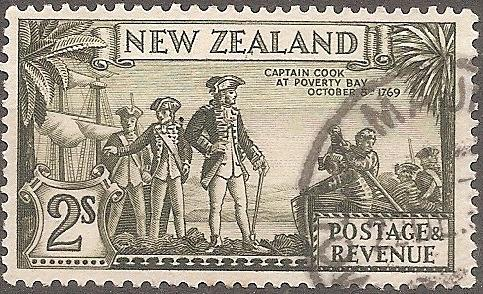 [NZ0215] New Zealand: Sc. no. 215 (1936-1942) Used