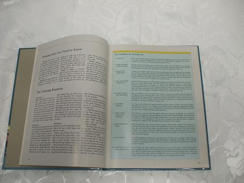 Hardcover Exercise Book Getting Firm Shaping & Toning