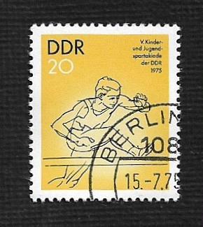 Germany DDR Used Scott #1666 Catalog Value $.25