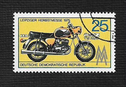 Germany DDR Used Scott #1677 Catalog Value $.25