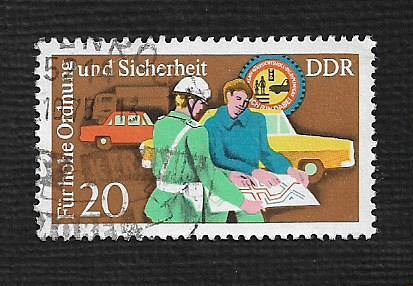 Germany DDR Used Scott #1680 Catalog Value $.25
