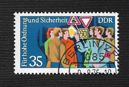 Germany DDR Used Scott #1682 Catalog Value $.25