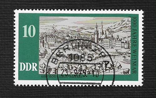 Germany DDR Used Scott #1686 Catalog Value $.25