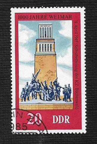 Germany DDR Used Scott #1687 Catalog Value $.25