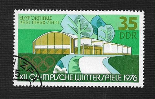 Germany DDR Used Scott #1699 Catalog Value $.25