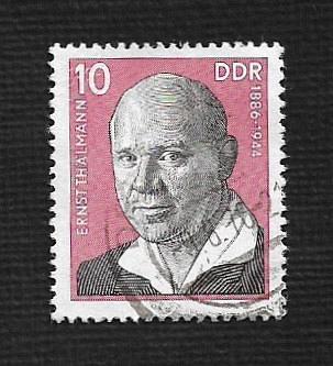 Germany DDR Used Scott #1703 Catalog Value $.25