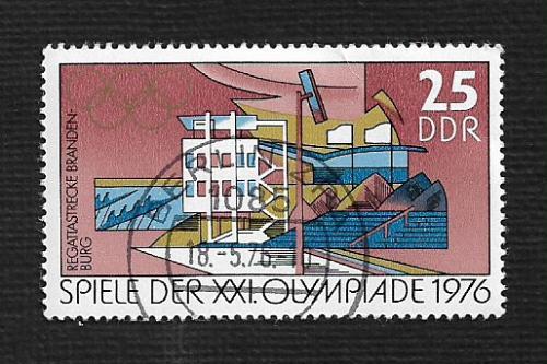 Germany DDR Used Scott #1724 Catalog Value $.25