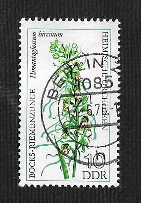 Germany DDR Used Scott #1729 Catalog Value $.25