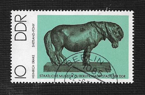 Germany DDR Used Scott #1735 Catalog Value $.25