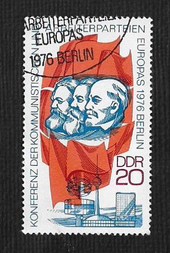 Germany DDR Used Scott #1740 Catalog Value $.25
