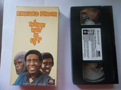 WHICH WAY IS UP? (VHS) RICHARD PRYOR (COMEDY/ADVENTURE), PLUS FREE GIFT